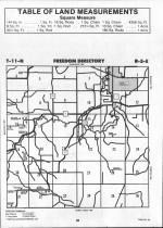Sauk County Map Image 015, Juneau and Sauk Counties 1992